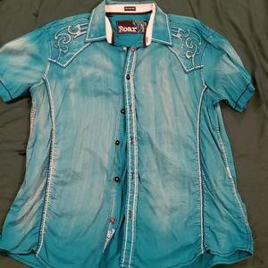 Roar Kearney ll Short Sleeve Dress Shirt